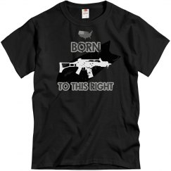 Right to bear arms - born into, not granted