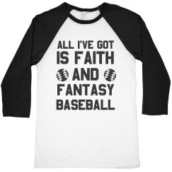 Faith And Fantasy Baseball