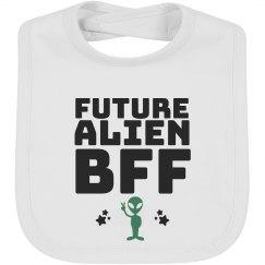 Alien BFF Baby Bib