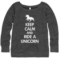 Keep Calm & Ride Unicorn