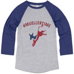#MUELLERTIME Baseball shirt