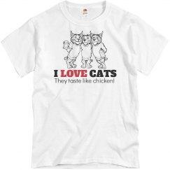 I Love Cats Taste Like...