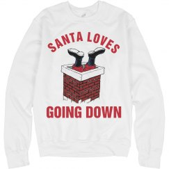 Santa Loves Going Down