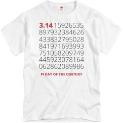 Pi Day Digits Tee