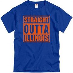Straight Outta Illinois T-Shirt