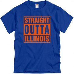 Straight Outta Illinois T-Shirt