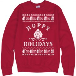 Hoppy Holidays Drinking Sweater