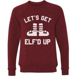 Let's Get Elf'd Up Xmas Sweater