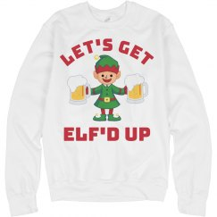Get Elf'd Up Xmas Drinking Sweater