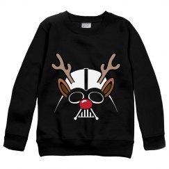 Kids Darth Vader Christmas Sweater
