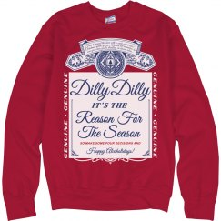 Dilly Dilly Xmas Drinking Sweater