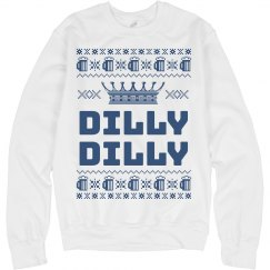Dilly Dilly Christmas Beer Sweater