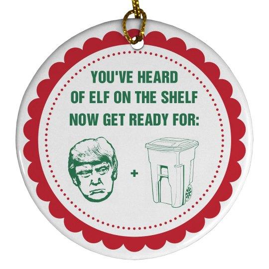 Elf On The Shelf Trump In The Dump