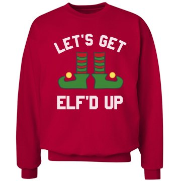 Elf'd Up Christmas Drinking Sweater