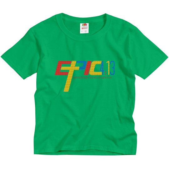 E.P.I.C. 4:13 - BOY'S T-SHIRT WITH LEGO PRINT LOGO