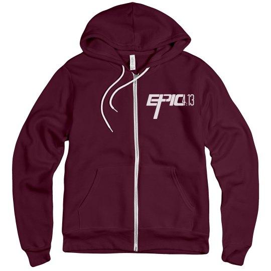 E.P.I.C. 4:13 - Zip Up Hoodie