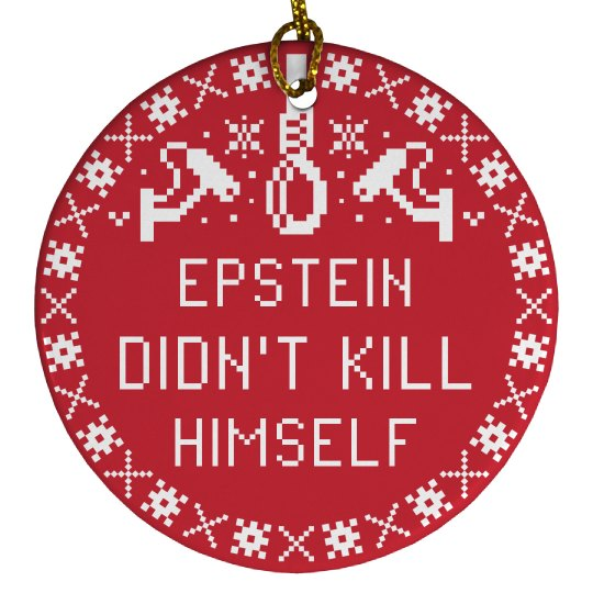 Epstein Christmas Graphics Decoration