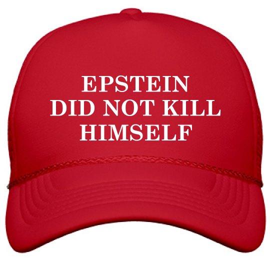 Epstein MAGA Parody Hat