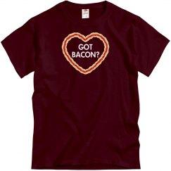 Got Bacon Heart Tee