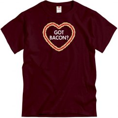 Got Bacon Heart Tee