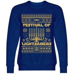 Hanukkah's Festival Of Lightsabers