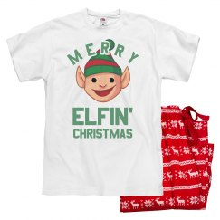 Merry Elfin' Christmas Pajamas