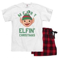 Merry Elfin' Christmas Pajamas
