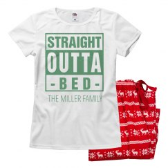 Straight Outta Xmas Bed