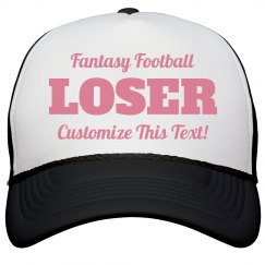 Custom Fantasy Football Loser Prize