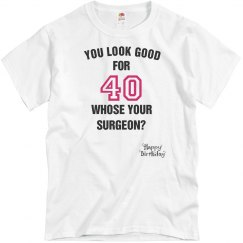Whose your surgeon?