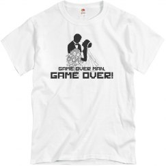 Game Over Wedding T-Shirt