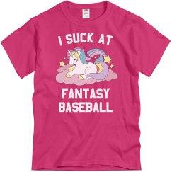 I Suck At Fantasy Baseball