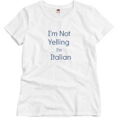 Not Yelling -Ladies