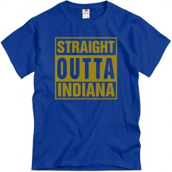 Straight Outta Indiana T-Shirt