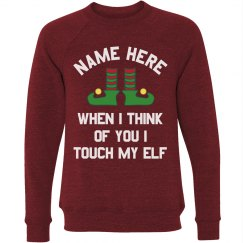 Funny Touch My Elf Creepster