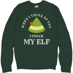 Touch My Elf Tacky Christmas