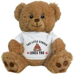 Little Stinker Valentine's Bear Gift