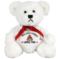Little Stinker Valentine's Bear Gift
