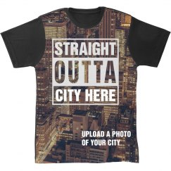 Straight Outta Custom City All Over Print
