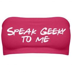 Speak Geeky Top