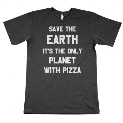 The Only Planet With Pizza