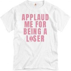 Applaud Football Loser