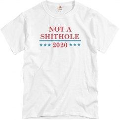Not A Shithole President 2020