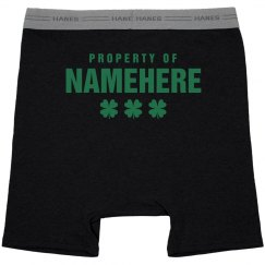 Property of Namehere Boxer Brief