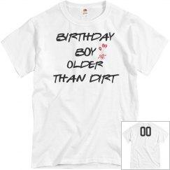 Now older than dirt