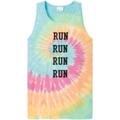 Run Run Tank Top for Runners
