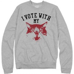 I Vote With My Kitty