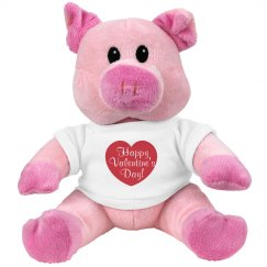 Happy Valentine's Day Pig