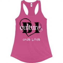 one love ladies tank