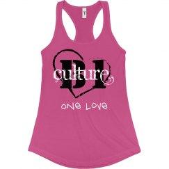 one love ladies tank